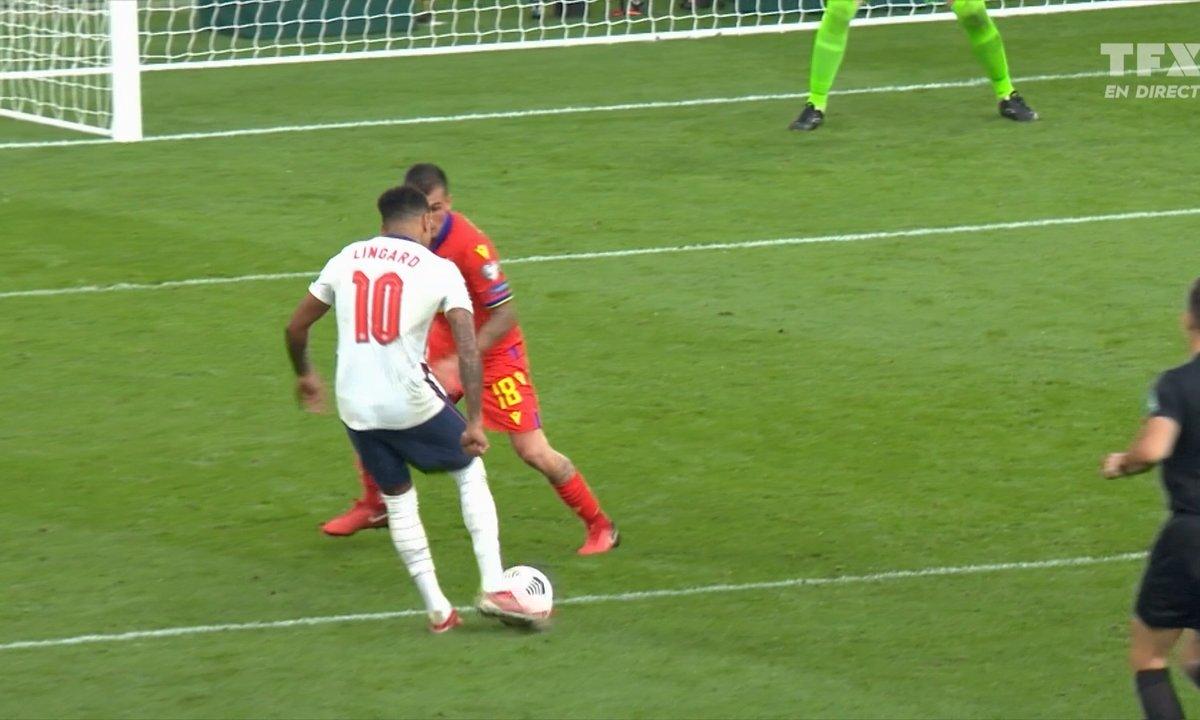Angleterre - Andorre (3 - 0) : Voir le 2nd but de Jesse Lingard en vidéo