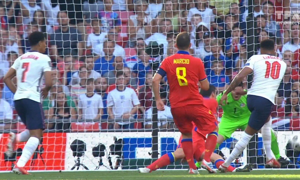 Angleterre - Andorre (1 - 0) : revoir le but de Lingard en vidéo