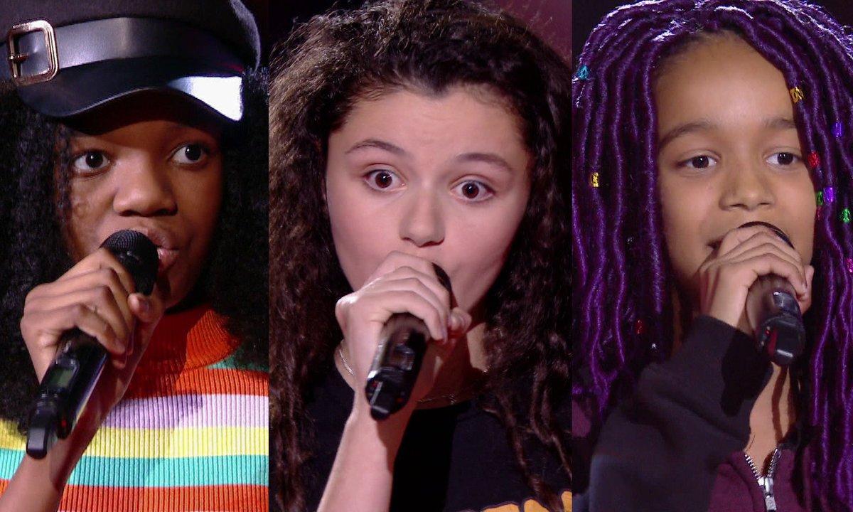 Lisa VS Nour VS Talima chantent « Royals » de Lorde (Team Soprano)