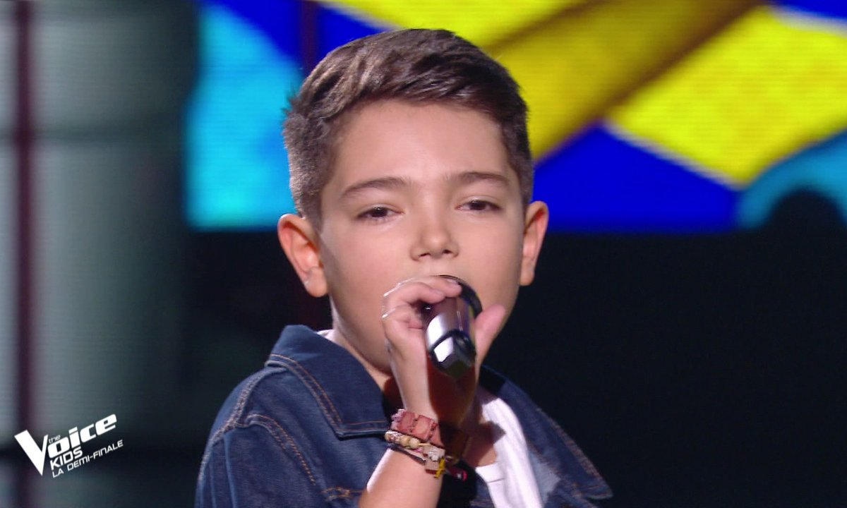 "The Voice Kids 2020 - Demi-Finale : Lissandro chante ""One way or another"" de Blondie (Team Jenifer)"