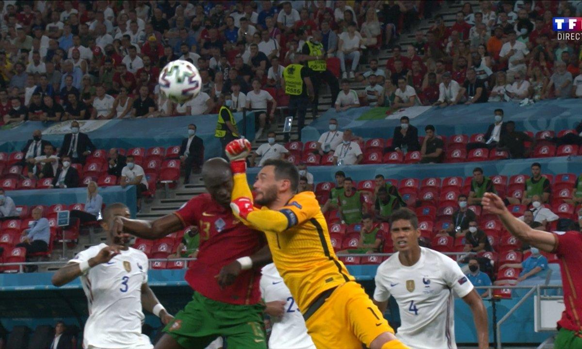 Portugal - France (0 - 0) : Voir la faute de Lloris sur Danilo en vidéo