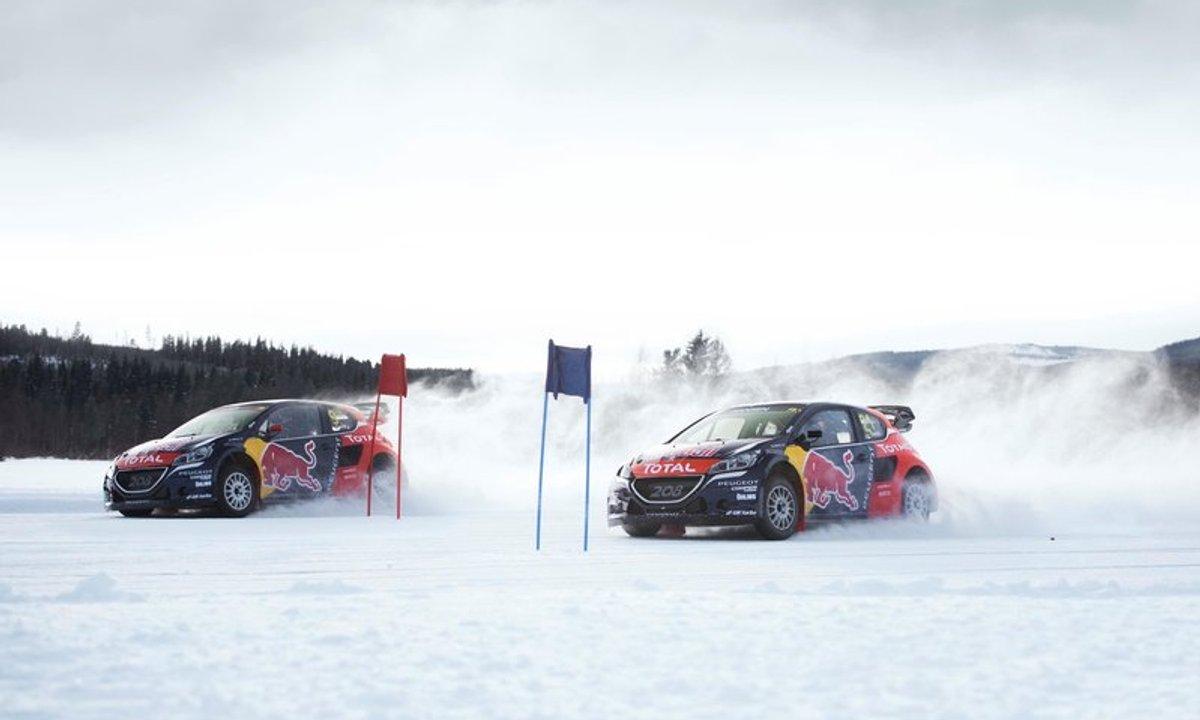 Sébastien Loeb se prépare au World Rallycross Championship