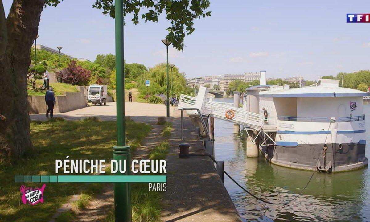 Logement (Paris) - Au coeur des Restos du Coeur du 22 juillet 2020