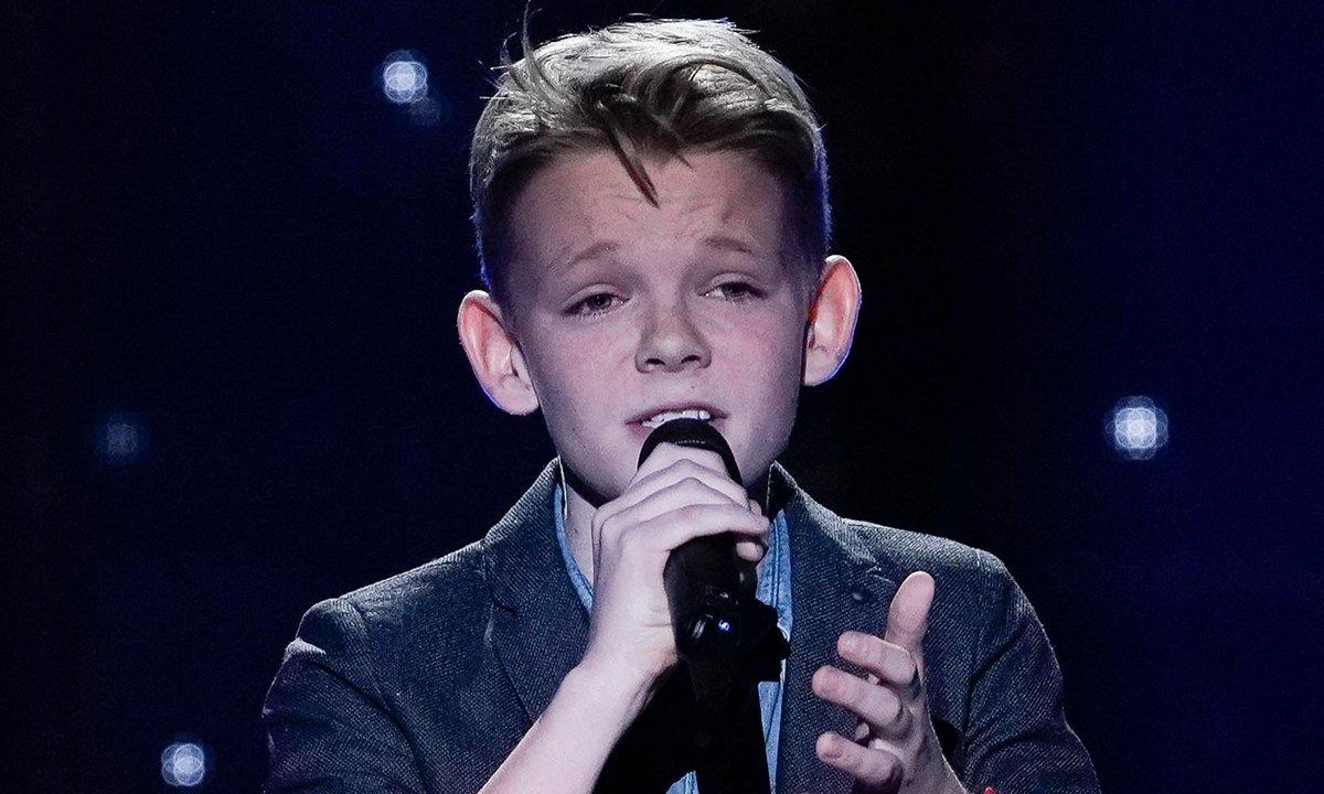 """The Voice Kids 2020 - Lohi chante """"Je veux être vieux"""" de Slimane"""