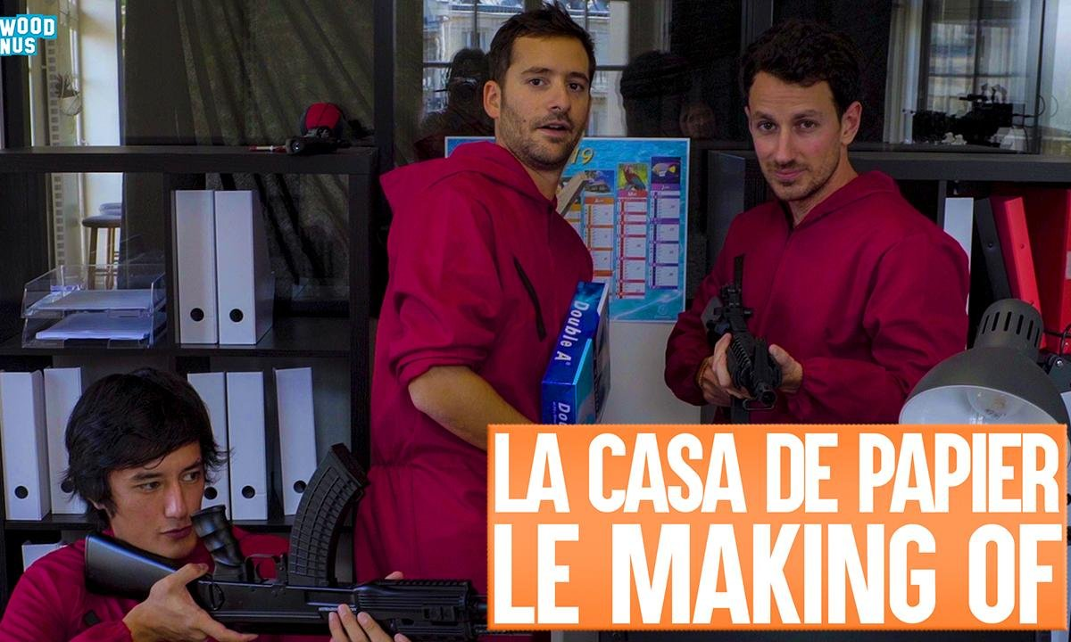 Lolywood - Casa de Papier - Le Making-Of