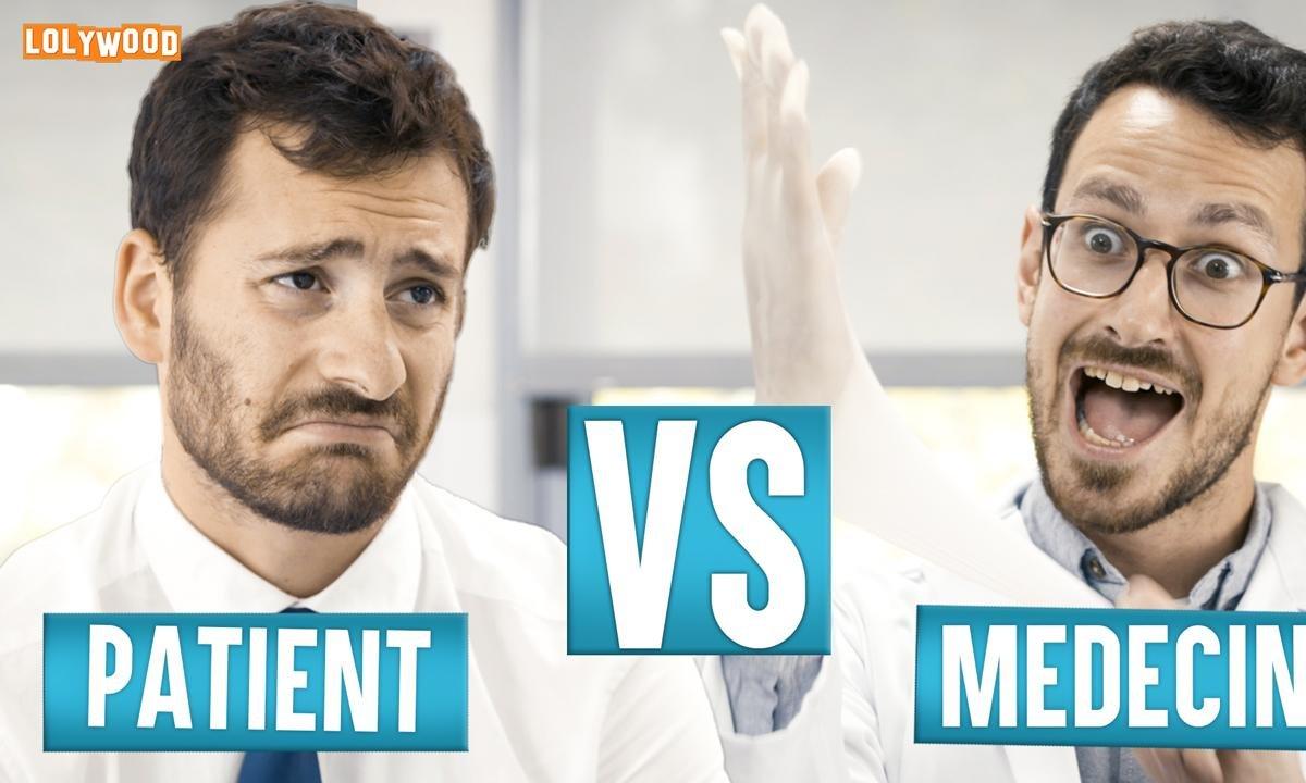 Lolywood - Médecin VS Patient