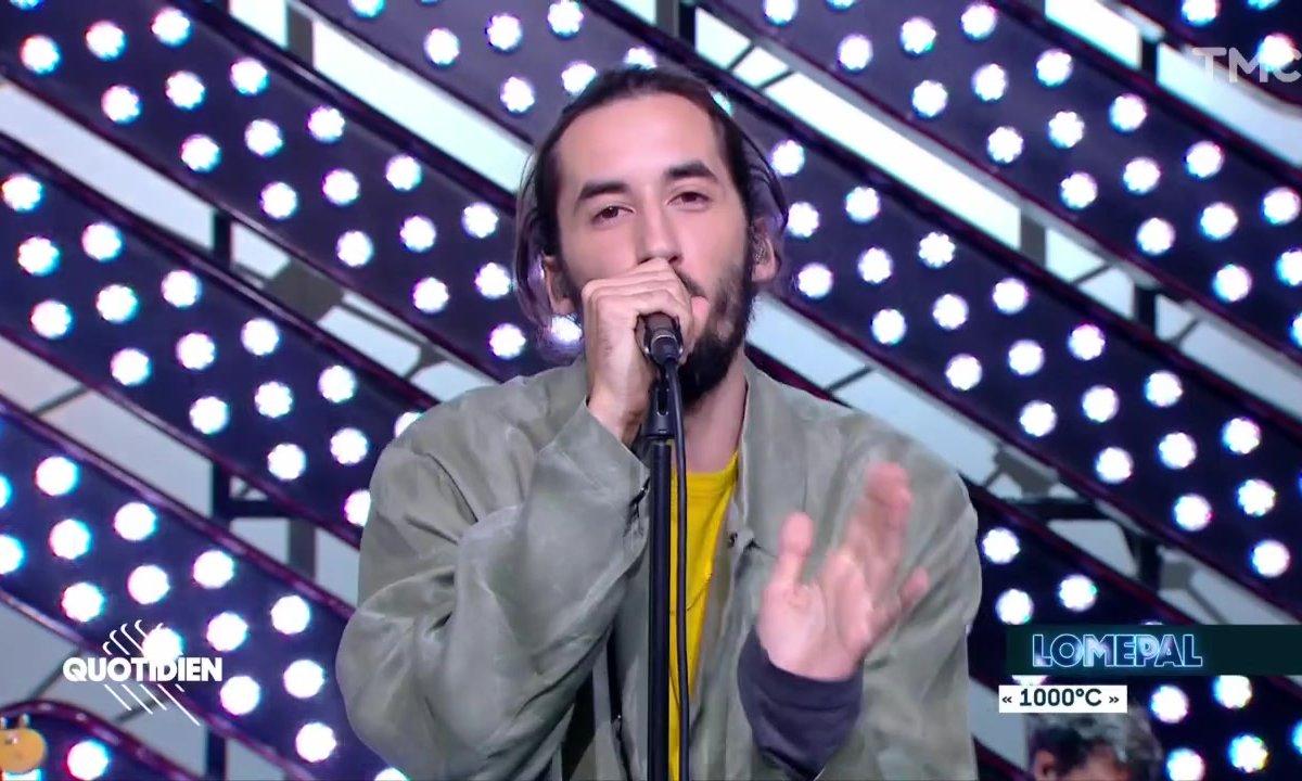 """Lomepal : """"1000 degrés"""" en live pour Quotidien"""