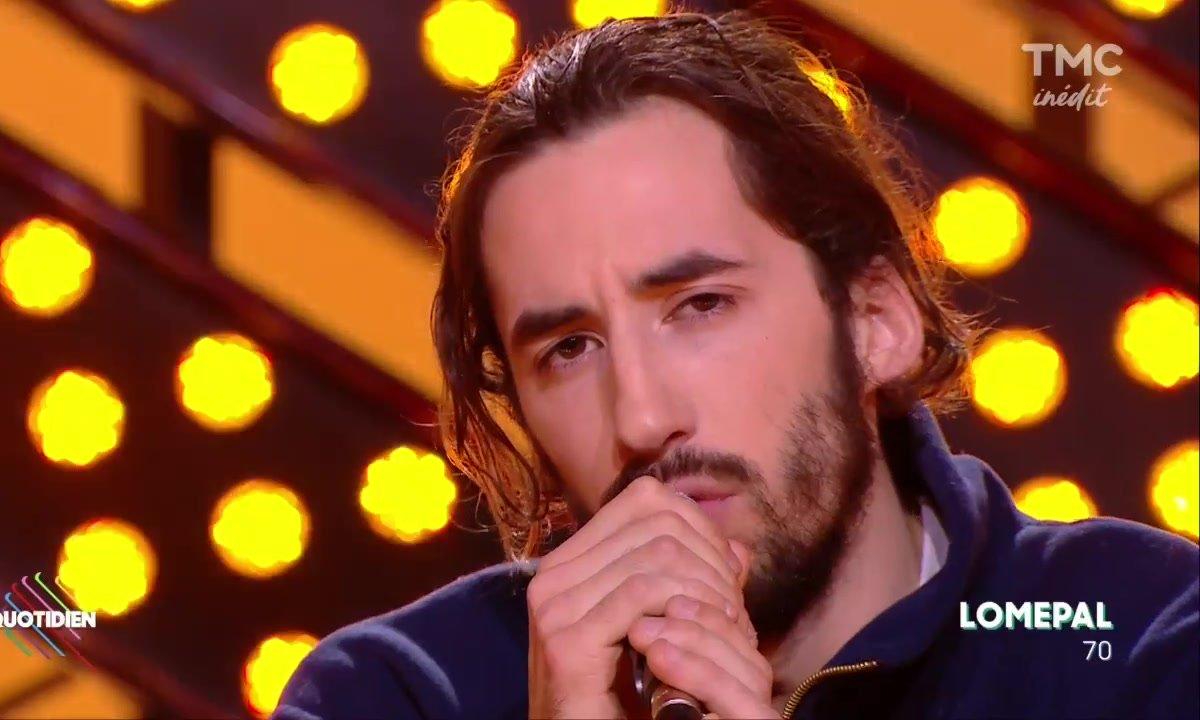 """Lomepal : """"70"""" en live dans Quotidien"""