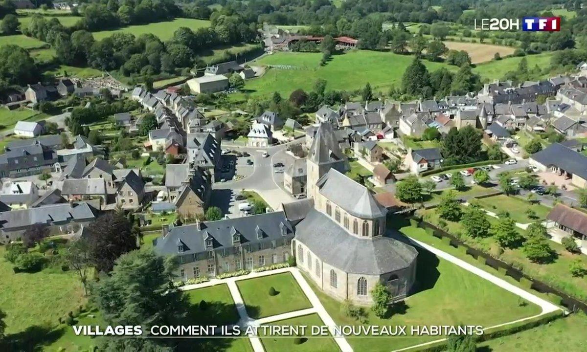 Lonlay-l'Abbaye, un village rural gagne des habitants