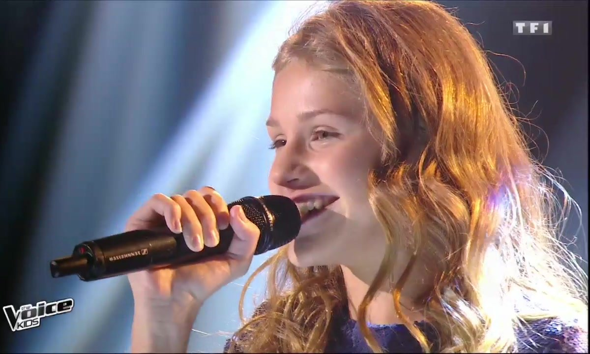 Lou - « One moment in time » (Whitney Houston) pour la finale