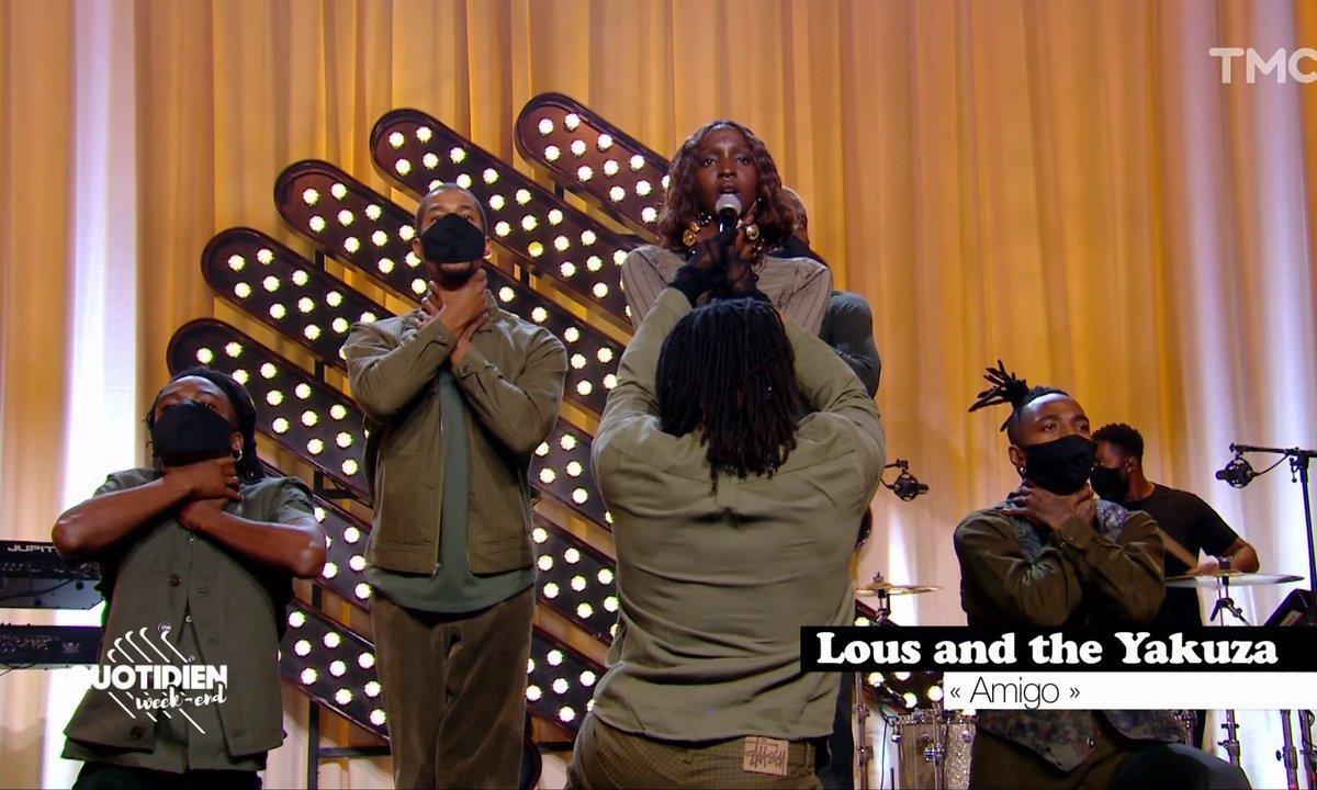 """Lous & The Yakuza : """"Amigo"""" en live pour Quotidien"""