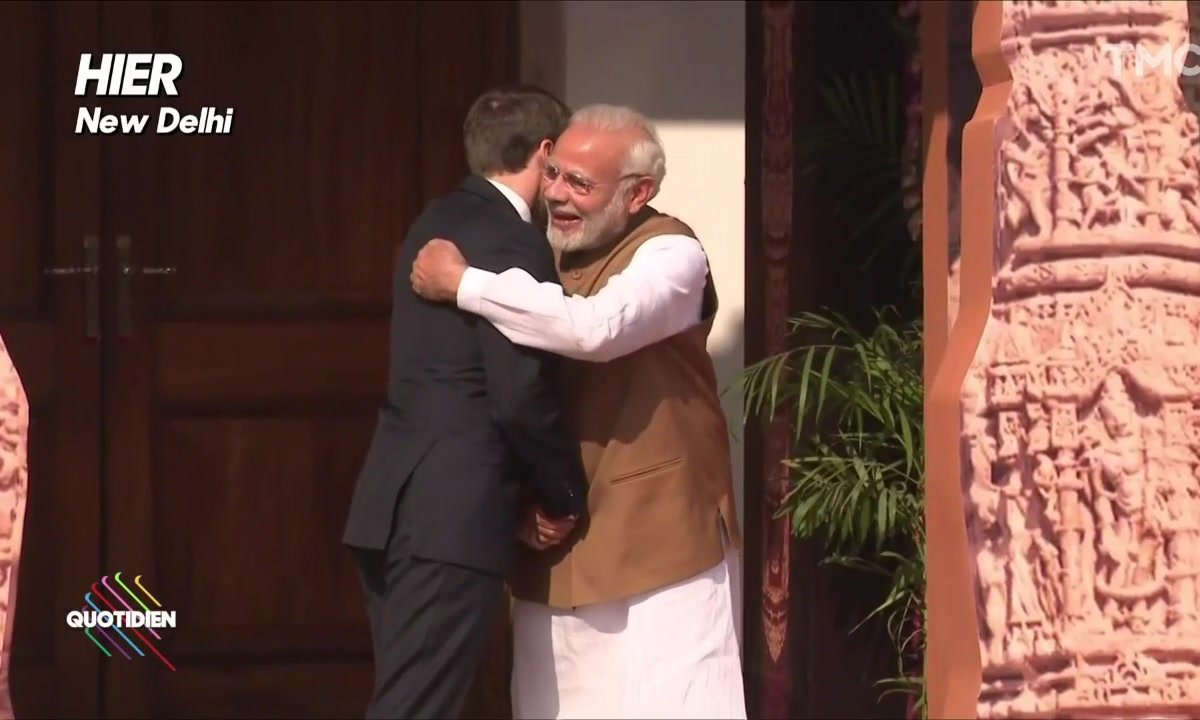 La love story d'Emmanuel Macron et Narendra Modi