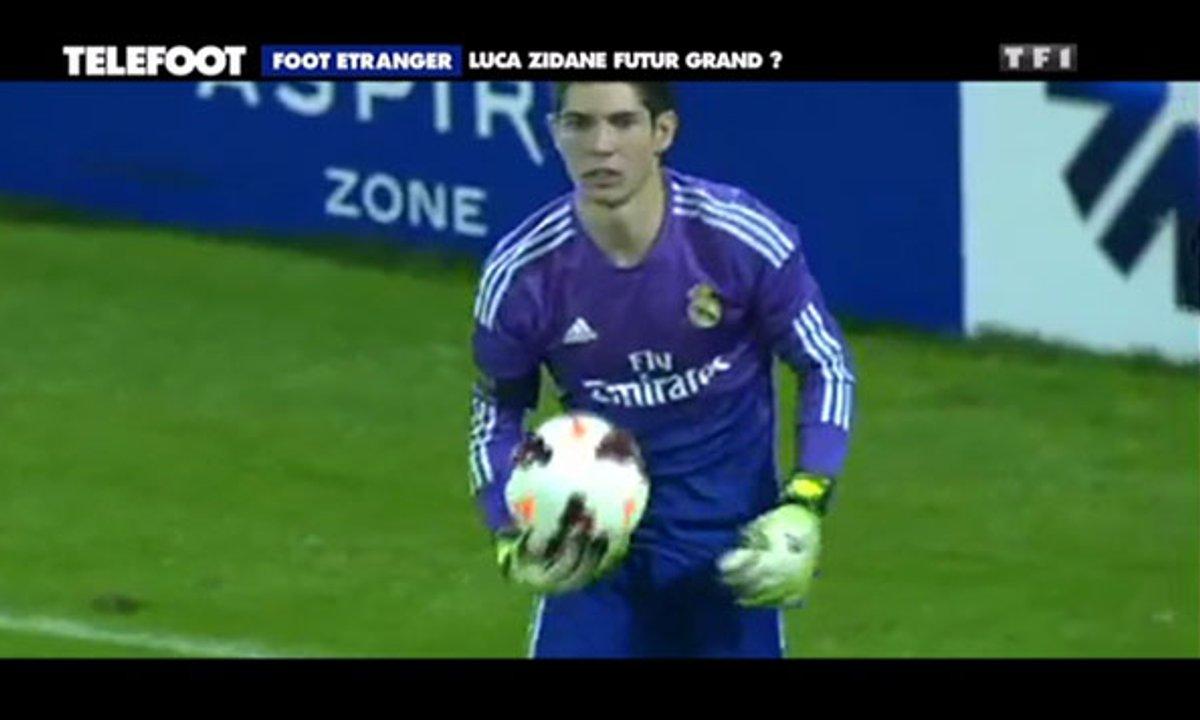 Luca Zidane, le fils de Zinedine, futur Iker Casillas ?