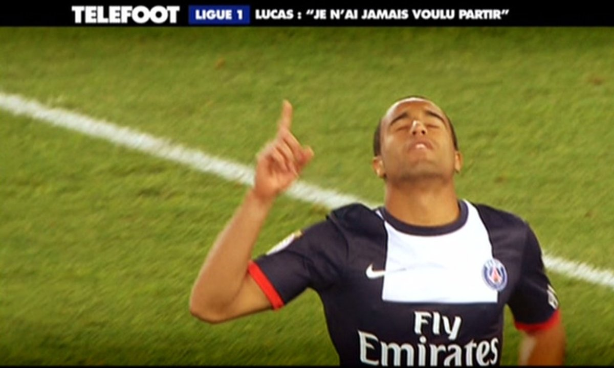"""PSG - Lucas : """"On peut gagner la Ligue des champions"""""""