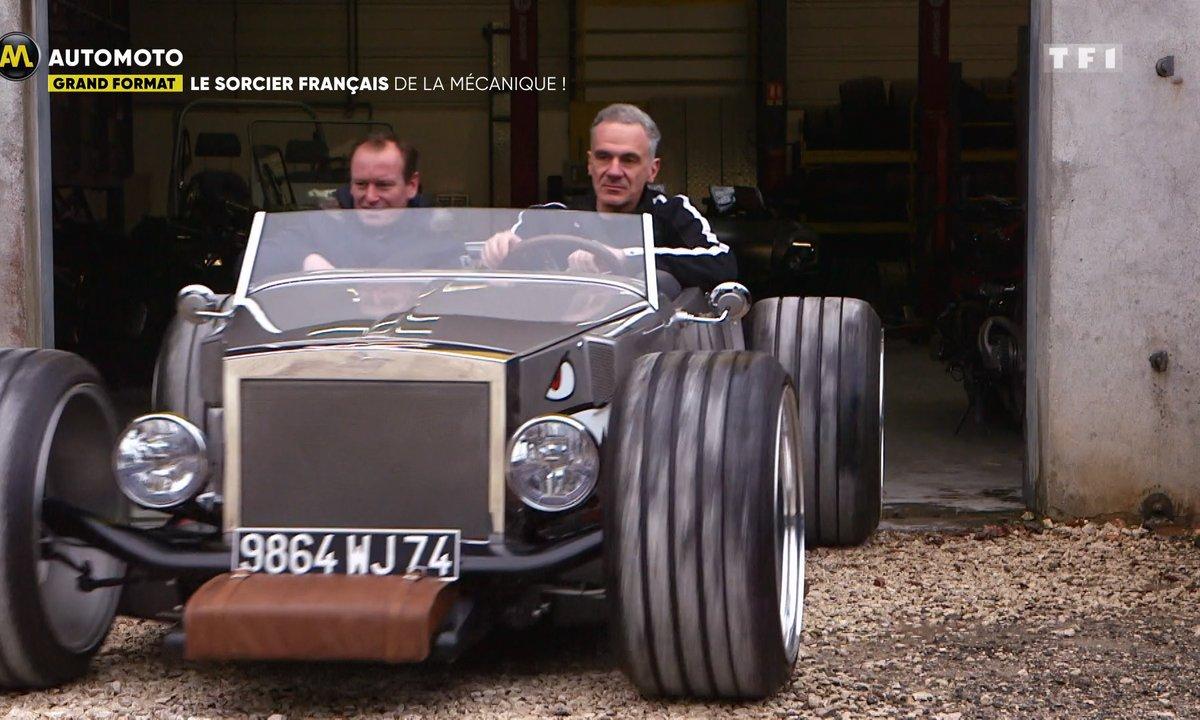 Ludovic Lazareth, le sorcier français de la mécanique !
