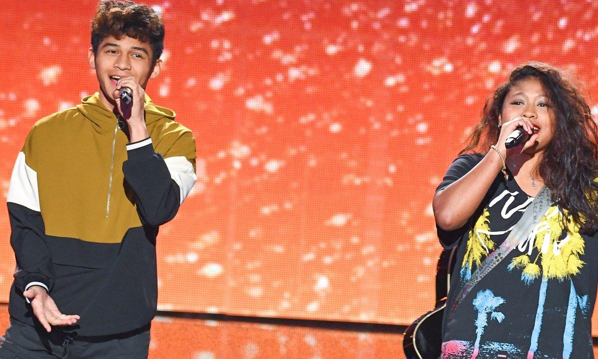 "THE VOICE 2020 - Ludysoa & Nathan chantent ""Ravoravo"", un chant Malgache"