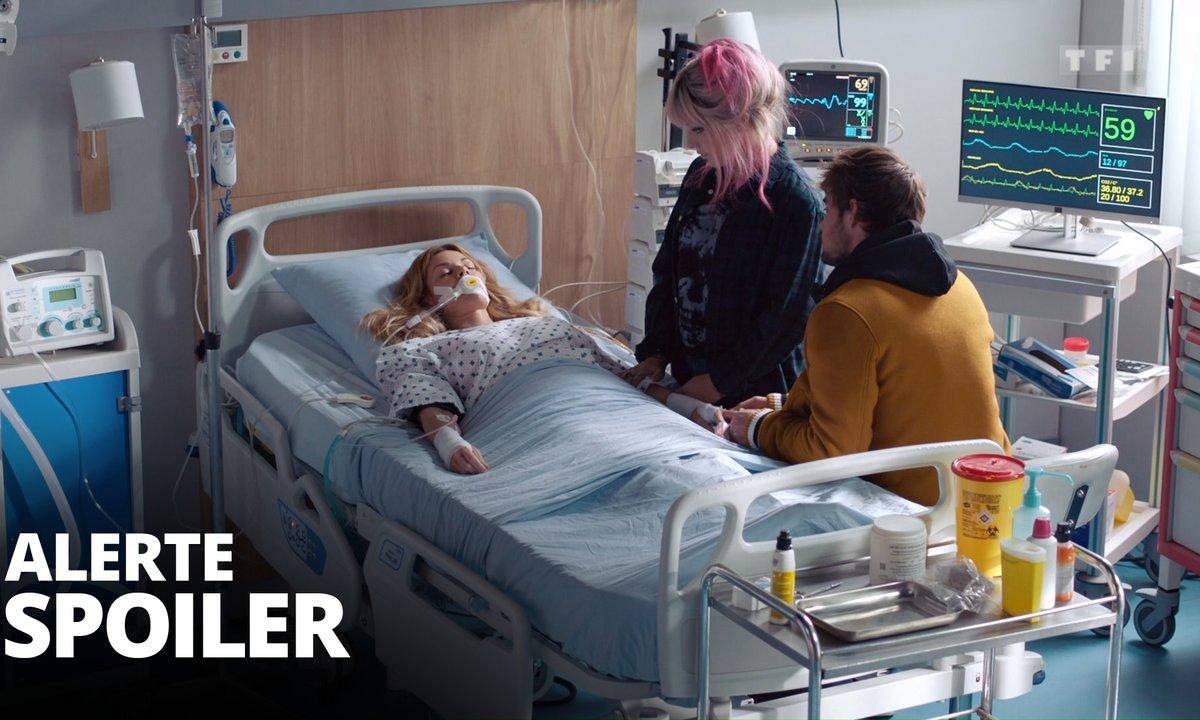 [SPOILER] - Judith et Maxime en pleurs face à Chloé