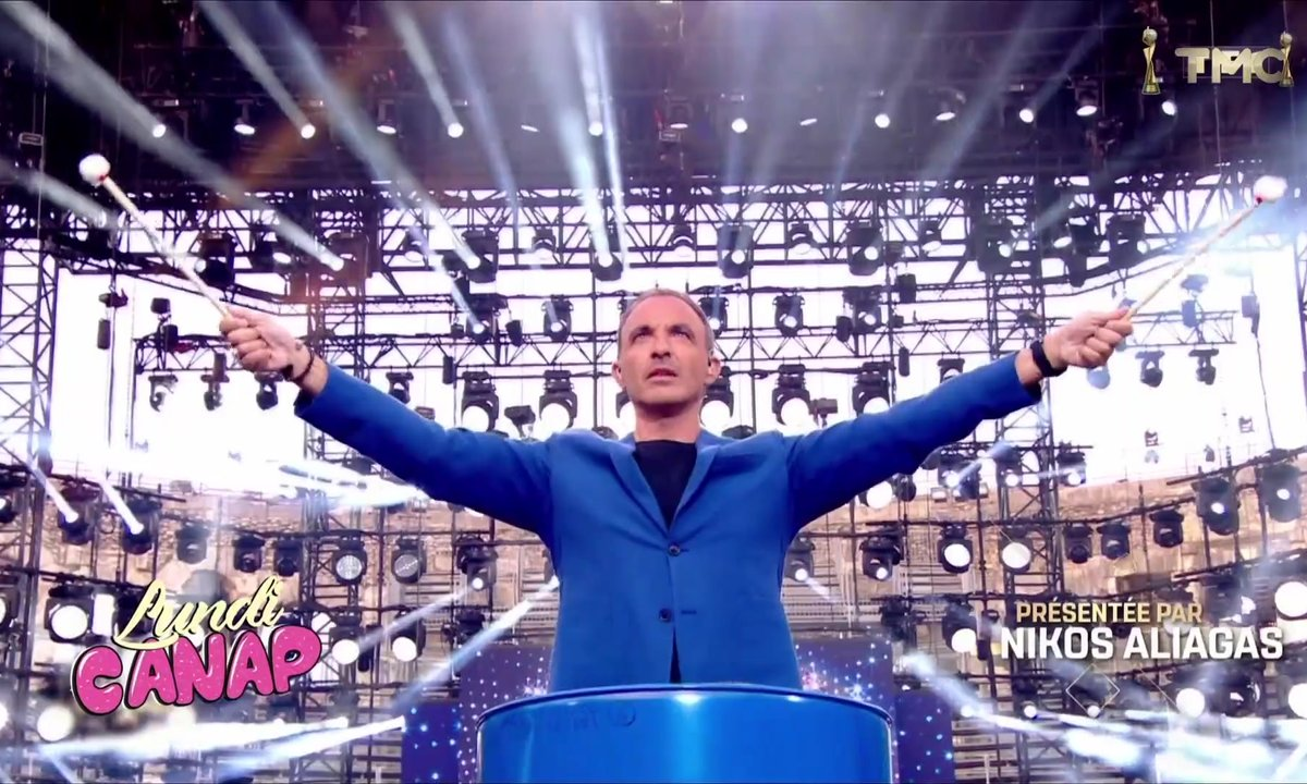 Lundi Canap : Nikos Aliagas, le couteau-suisse de TF1