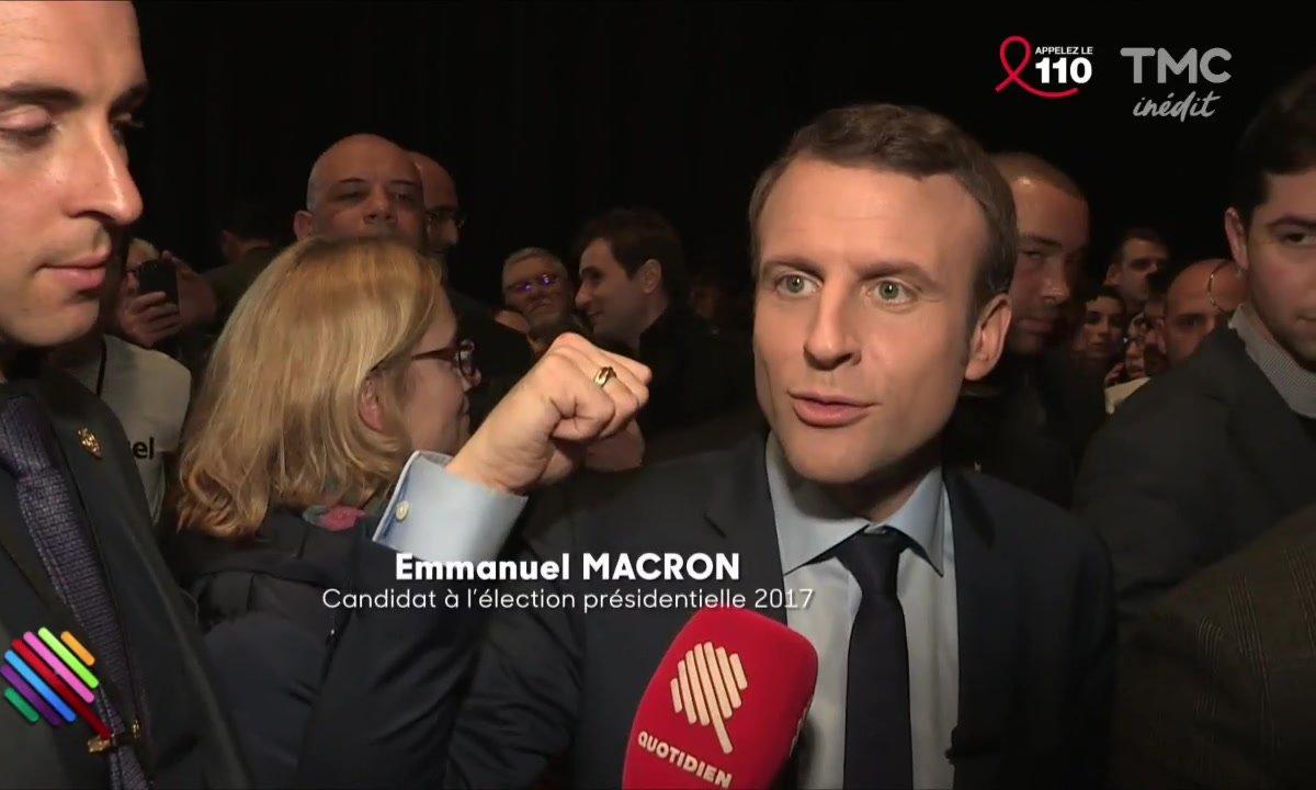 Macron à Dijon : l'ambiance n'y était pas