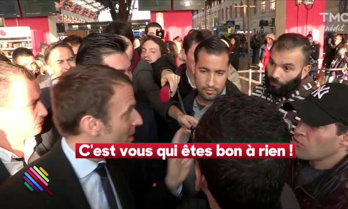 Emmanuel Macron, déplacement relax à Marseille