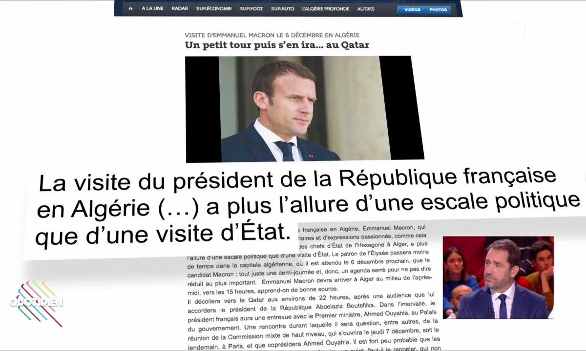 Macron en Algérie : Un petit tour et puis s'en va ?