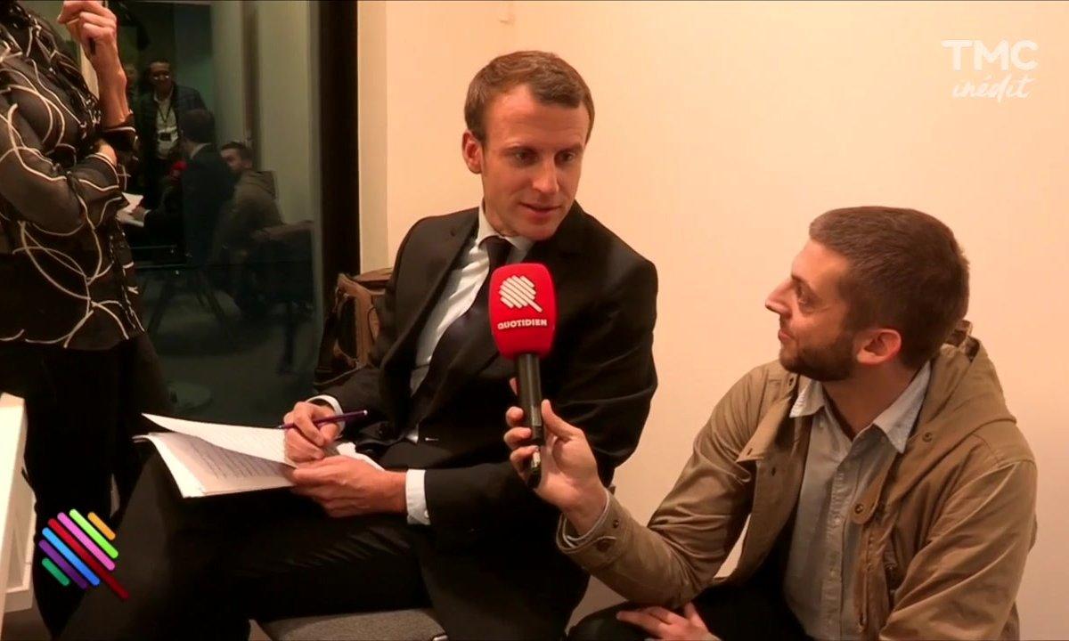 24h avec Manu Fitzgerald Macron