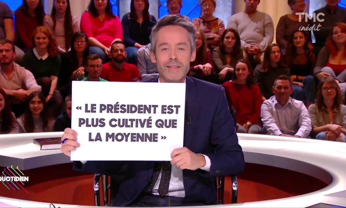 """Morning Glory : """"Macron plus cultivé que la moyenne"""""""