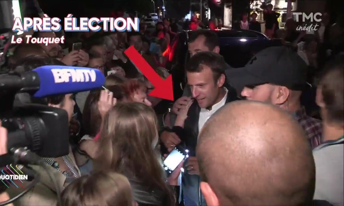 Macron : La saison des bains de mer est finie