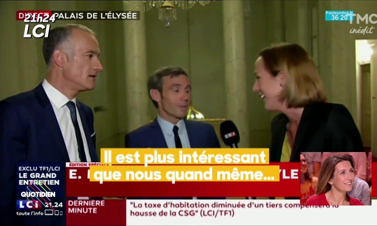 Macron sur TF1 : les coulisses de l'interview