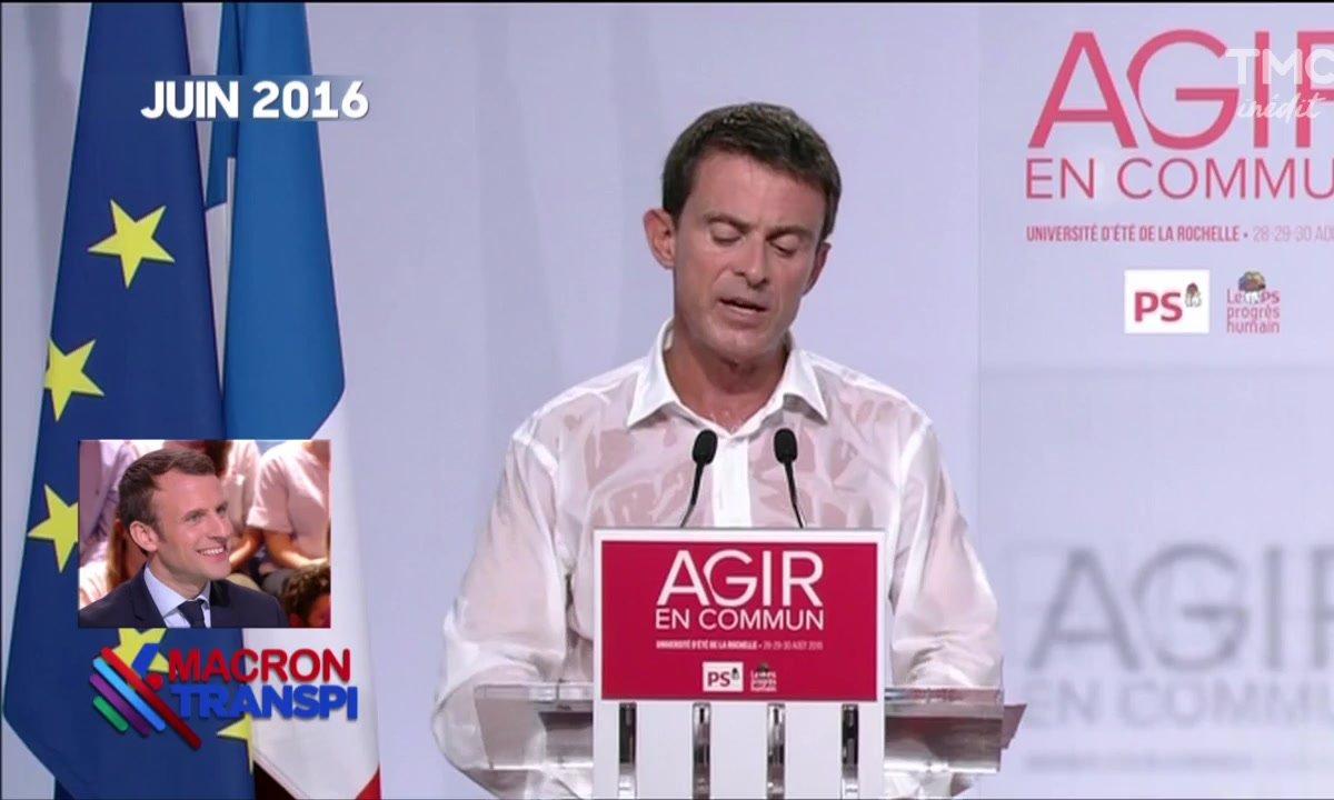 Macron Transpi - La politique : un vrai effort physique