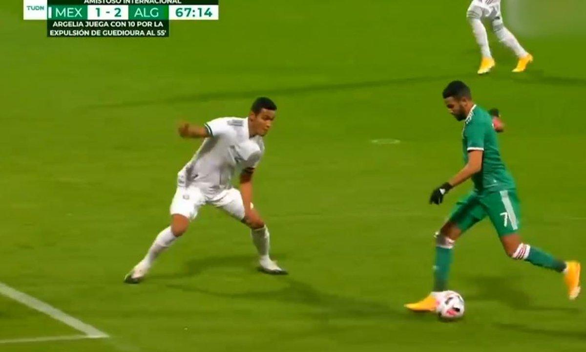 VIDEO - Le show Mahrez avec l'Algérie