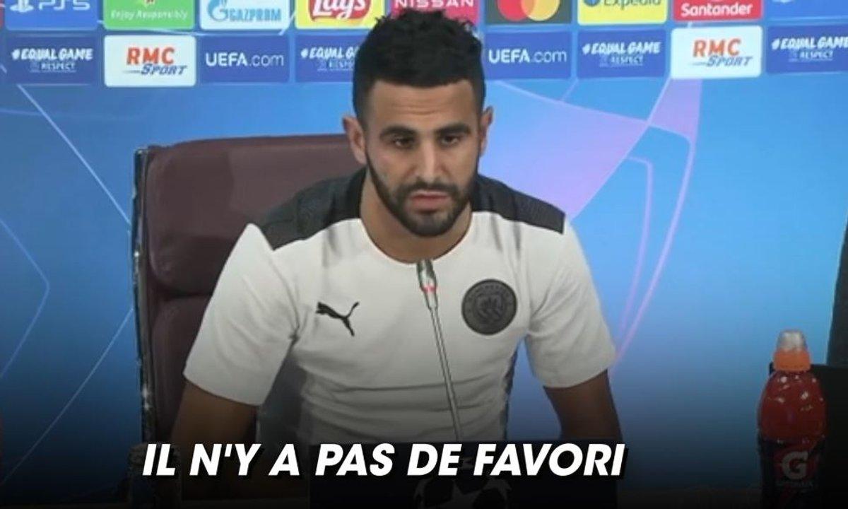"""VIDEO - Les Citizens pas """"favoris"""" selon Mahrez"""