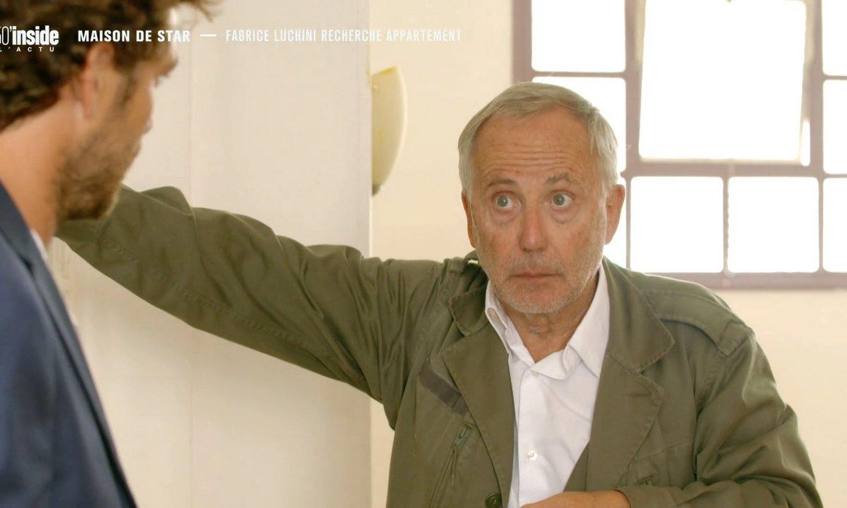 Maison de stars : Fabrice Luchini recherche appartement chic