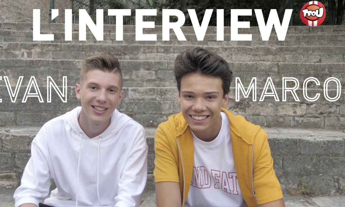 L'interview making off d'Evan et Marco