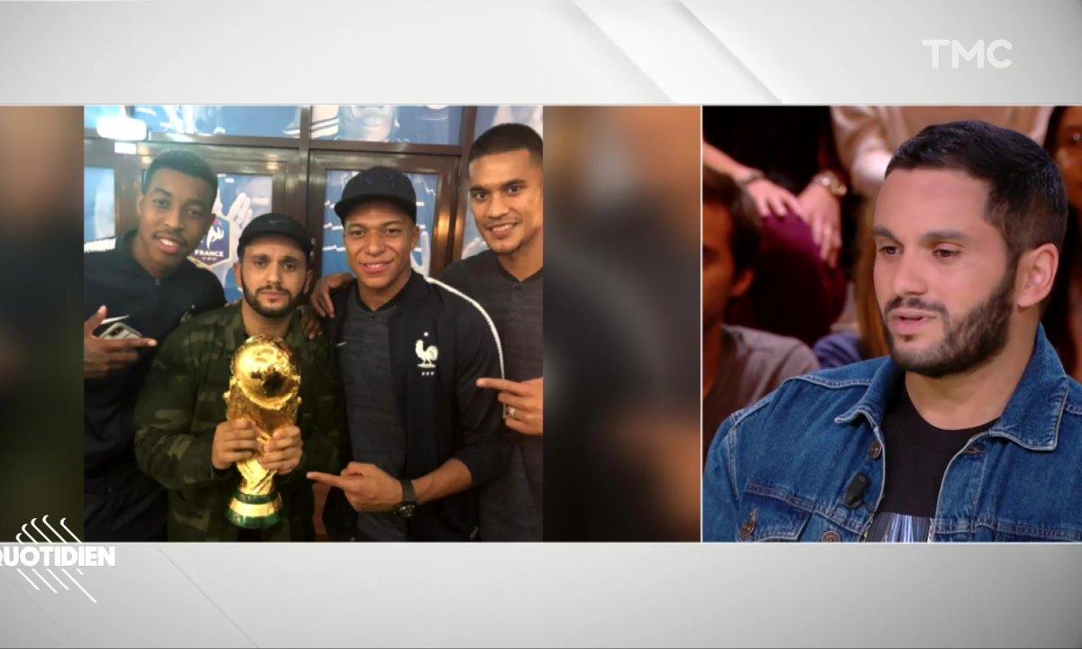 """Malik Bentalha sur la victoire des Bleus : """"Après ce qu'on a vécu, on en avait besoin, elle était pour nous"""""""