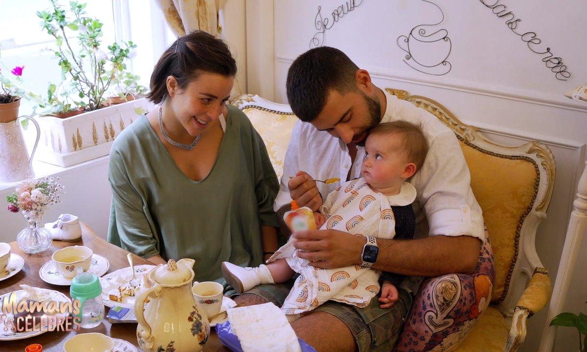 Vincent pouponne Alba dans le prochain épisode de Mamans & Célèbres
