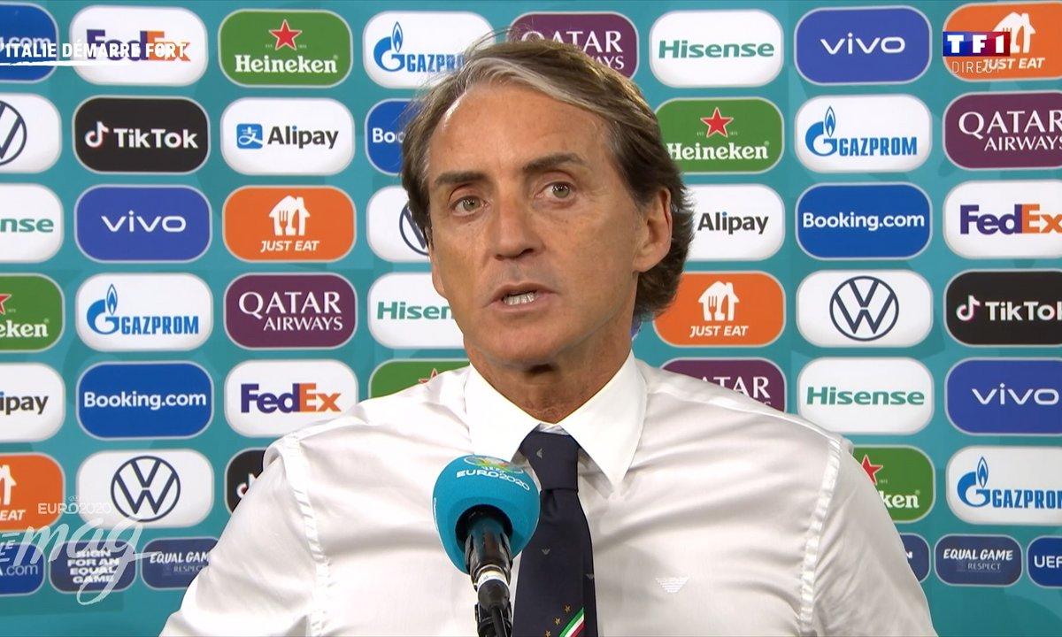 """Mancini : """"C'est une vraie satisfaction pour nous tous"""""""