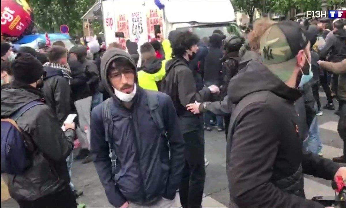 Manifestations du 1er mai : la CGT attaquée en fin de manifestation