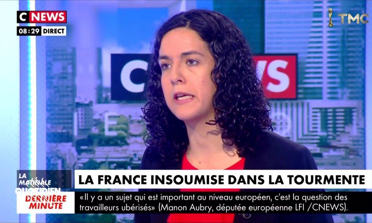 Manon Aubry de la FI fait sa première interview depuis… vous savez