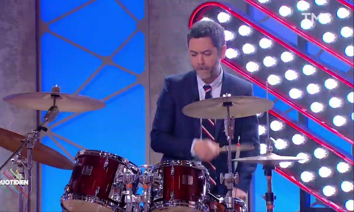 Manu Payet nous dévoile son talent caché à la batterie