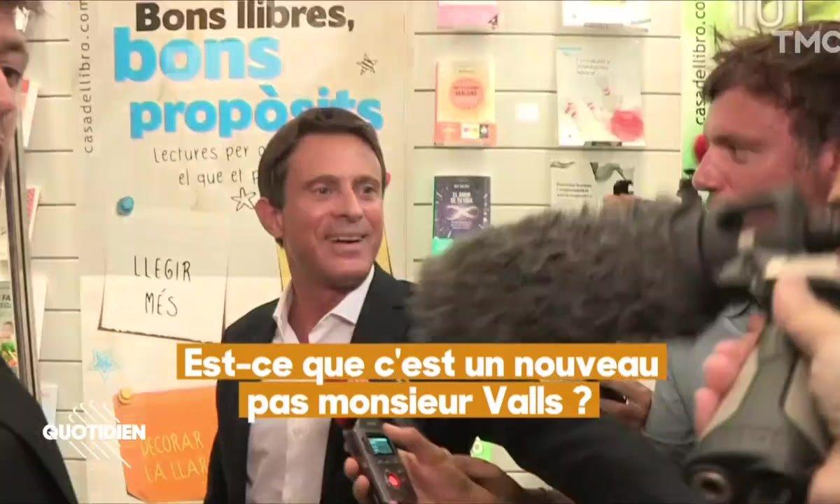 Manuel Valls à la mairie de Barcelone : ça se précise