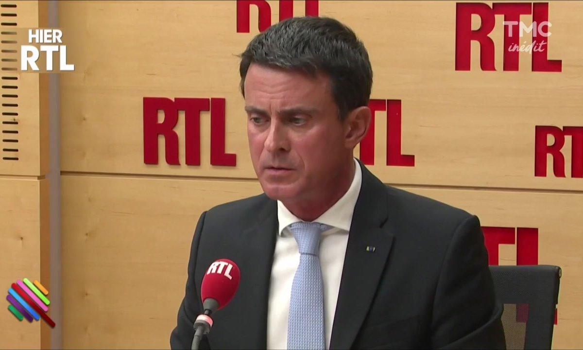 Manuel Valls drague Macron... et se prend un rateau