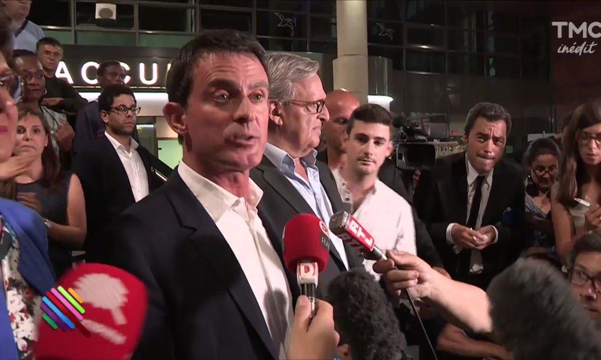 Manuel Valls élu à Evry : grosse tension au dépouillement et boum ratée
