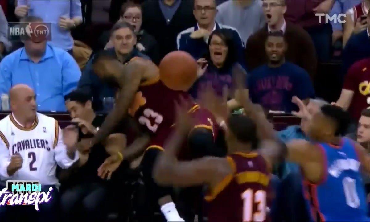 Mardi Transpi : c'est dangereux d'être supporter de NBA