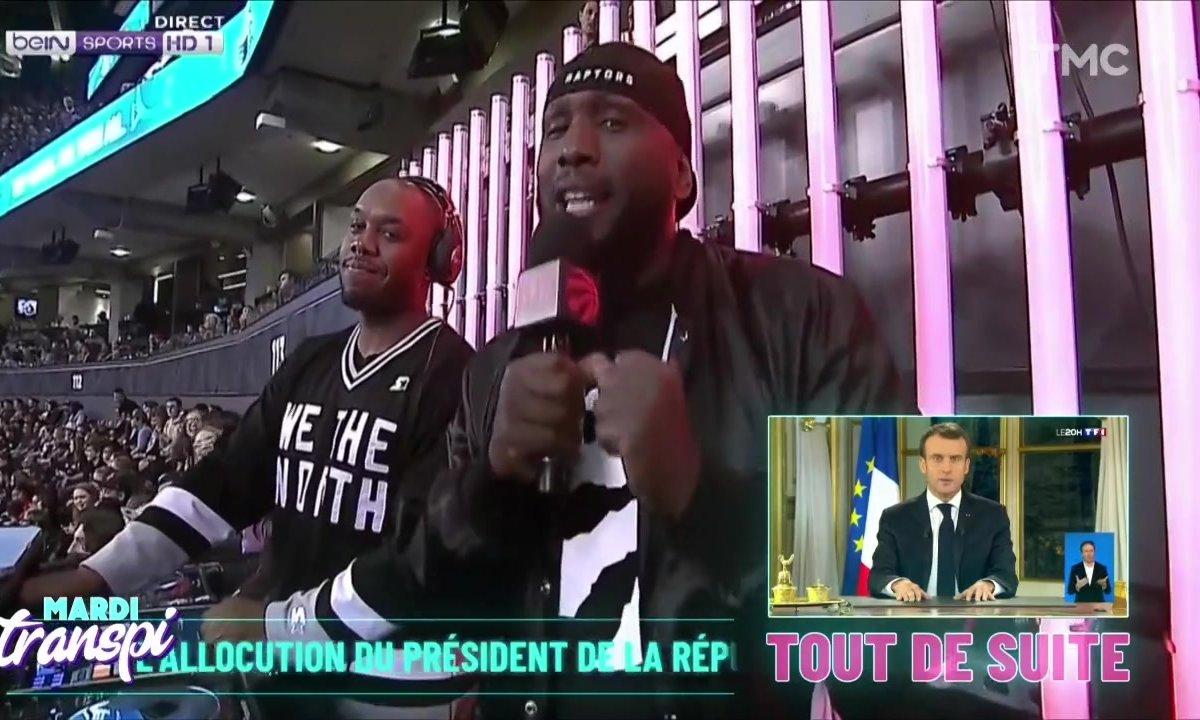 Mardi Transpi : le discours d'Emmanuel Macron commenté par BeinSport