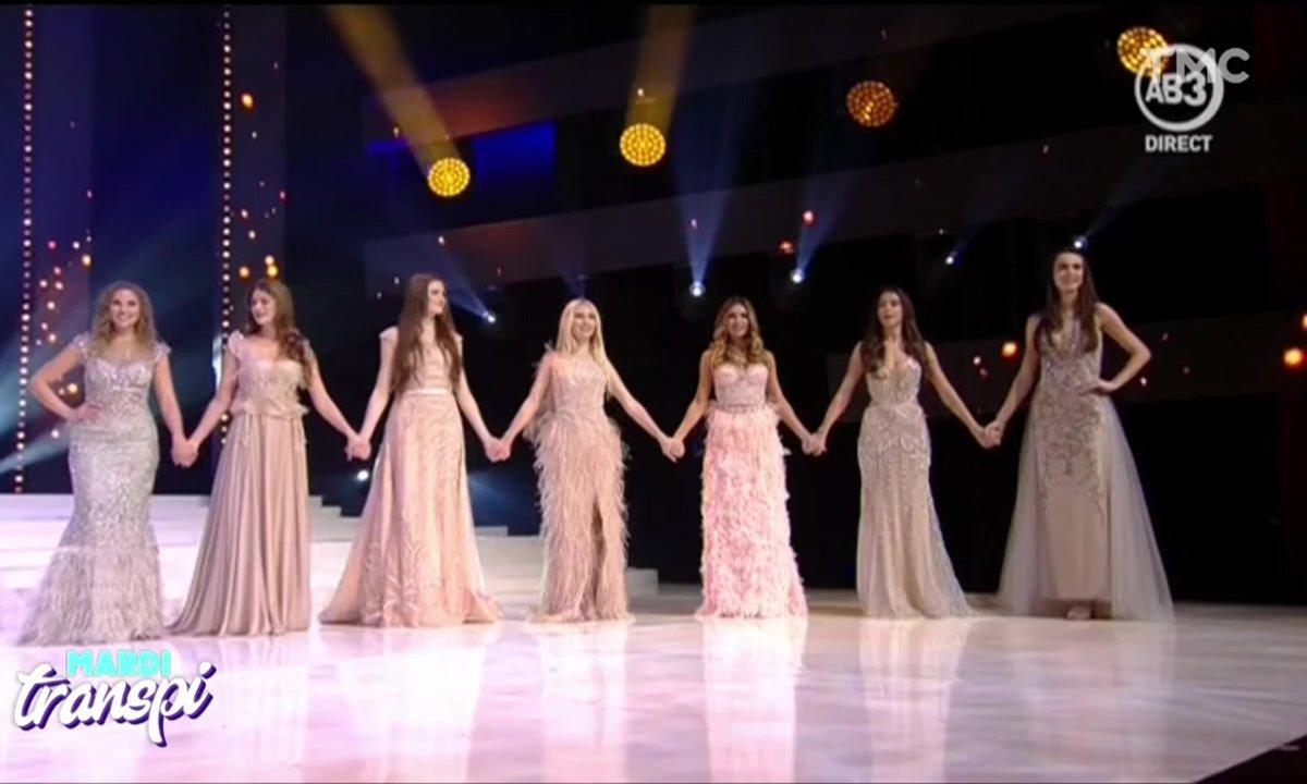 Mardi Transpi : suspens insoutenable au concours de Miss Belgique