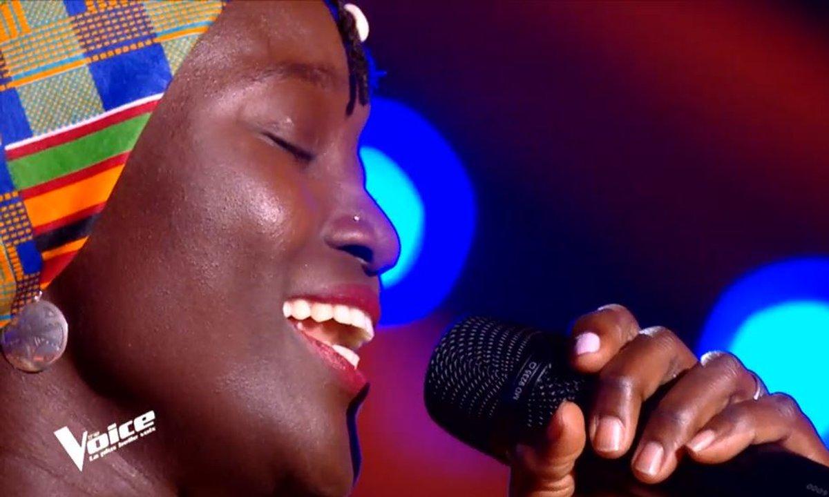 "THE VOICE 2020 -  Mariaa Siga chante ""Asimbonanga"" de Johnny Clegg & Savuka"
