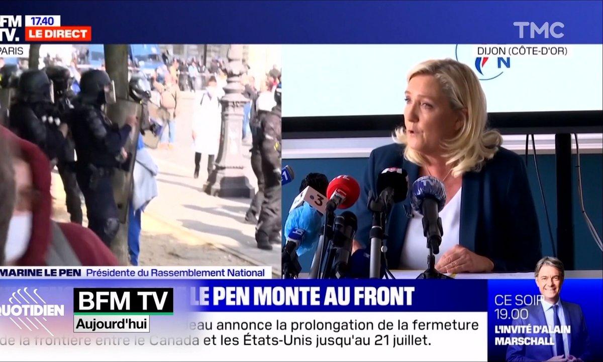 Marine Le Pen à Dijon : une récupération politique qui tombe à pic