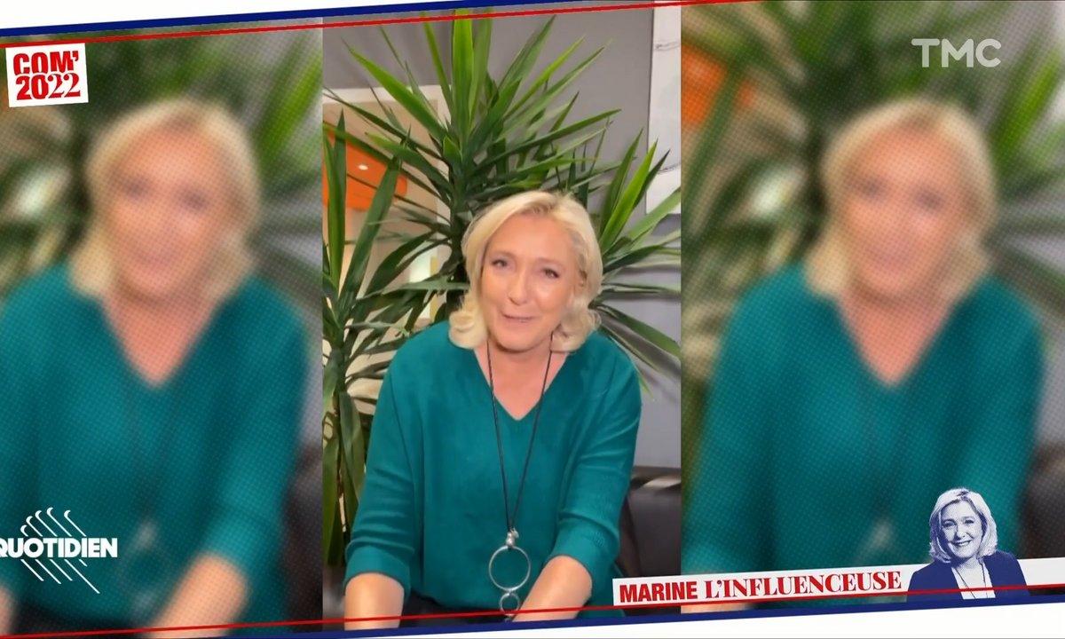 Marine Le Pen débarque sur Tik Tok