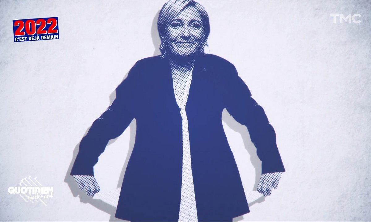 Marine Le Pen entame sa campagne les poches vides